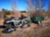 Heavy Duty ATV & Trailer