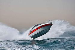 рекламная съёмка катера яхты