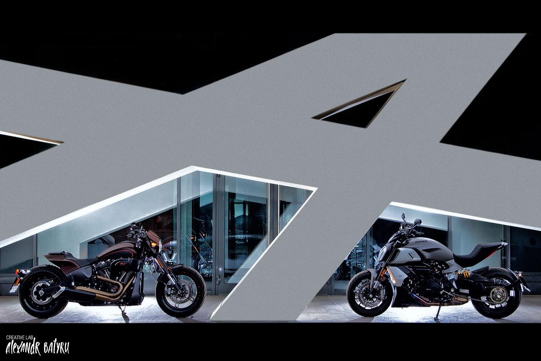 Harley-Davidson & Ducati