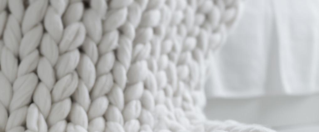 Coperta a maglia