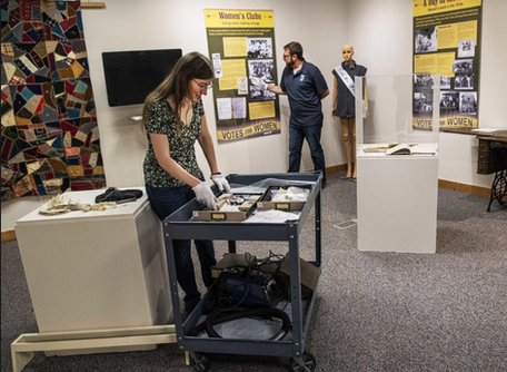 Grantee Exhibit Highlights Cowlitz County Suffragettes