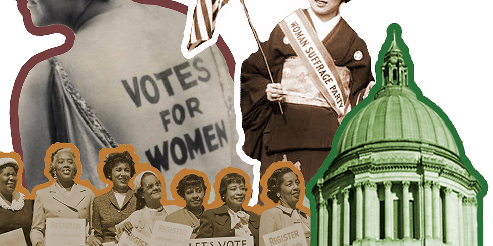 Women's Suffrage Centennial Celebration at the Washington State Capitol