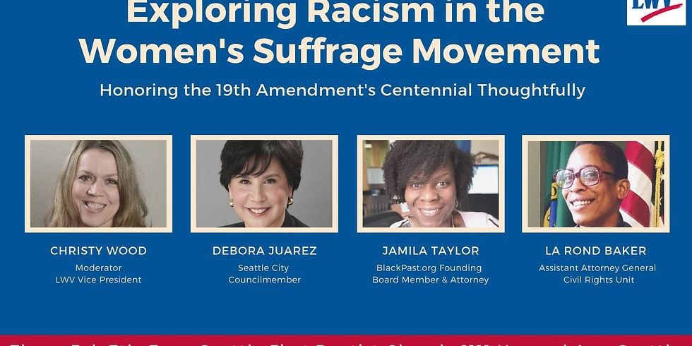 Exploring Racism in the Women's Suffrage Movement