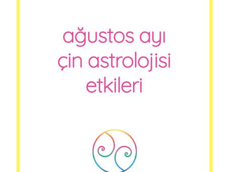 Ağustos Ayı Çin Astrolojisi Etkileri