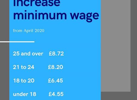 Nowe stawki wynagrodzenia