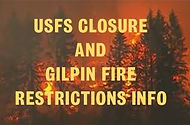 Fire Restrictions and USFS Closure Pic (