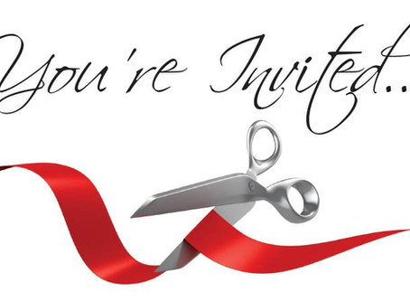 Official Ribbon Cutting Announced