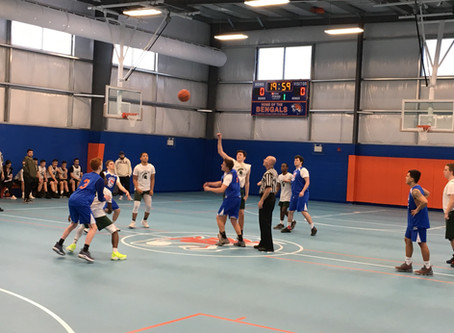 First Game at the New Police Officer John Marynowitz Gym