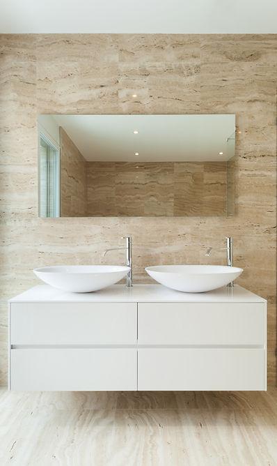 nice modern bathroom, marble walls.jpg