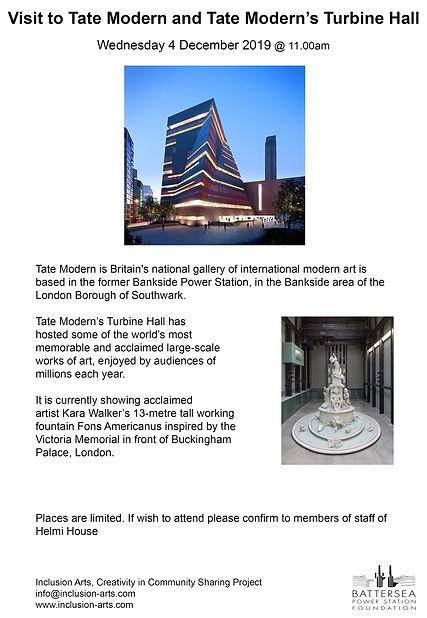 Helmi House Tate Visit Poster Leaflet.jp