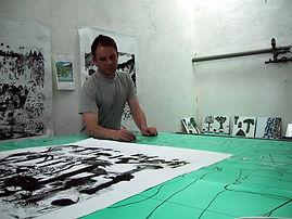 Jason Gibilaro Vitreous Enamel Panel layout