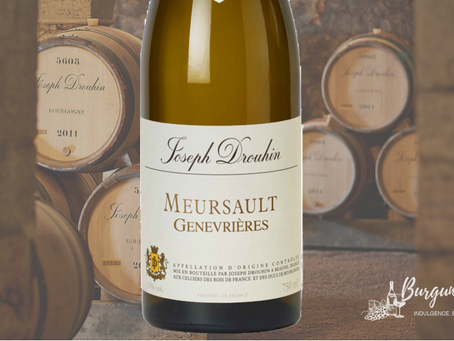 World's Best Price! Ex-Domaine Joseph Drouhin Meursault Genevrieres 1er Cru 2017 from HK$750/Bt Only