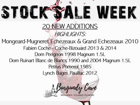 STOCK SALE 20 New Additions! Incl. Mongeard-Mugneret, Dom Perignon, Petrus, Lynch Bages....