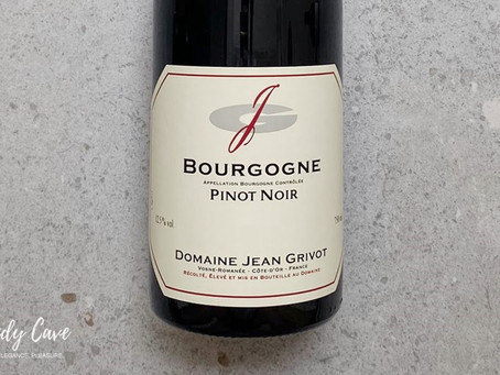 Another Excellent Daily Drinking Wine: 2008 Jean Grivot Bourgogne Pinot Noir, Only HK$380/Bt!