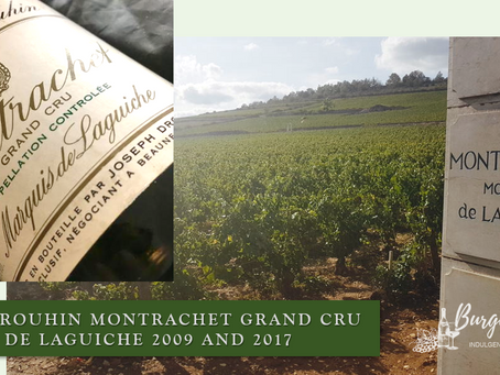 Special Offer! Joseph Drouhin Montrachet Grand Cru Marquis de Laguiche 2009 and 2017