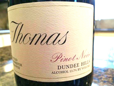 """""""One of the Best Pinot Noirs Outside Côte d'Or"""" - John Thomas Dundee Hills 2013"""