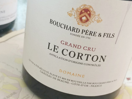 93pts Bouchard Le Corton 2018 at HK$930/Bt: Outscores Chambertin Clos-de-Beze and 1/3 of the Price!