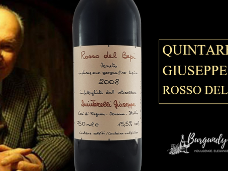 Quintarelli Giuseppe Rosso del Bepi 2008 and 2010 from HK$990/Bt