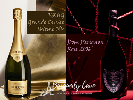 Special Offers on Latest Krug Grande Cuvee 169eme Release and Dom Perignon Rose 2006