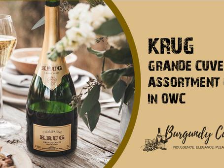 KRUG Grande Cuvée OWC Assortment Cases from 159-162eme: Don't Miss!