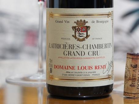 Ex-Domaine, Domaine Chantal (Louis) Remy Clos de la Roche & Latricieres-Chambertin