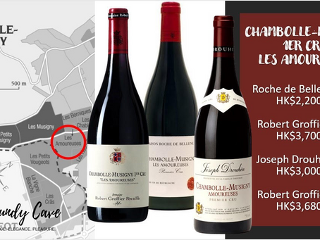 Three Compelling Les Amoureuses from Robert Groffier, Joseph Drouhin & Roche de Bellene