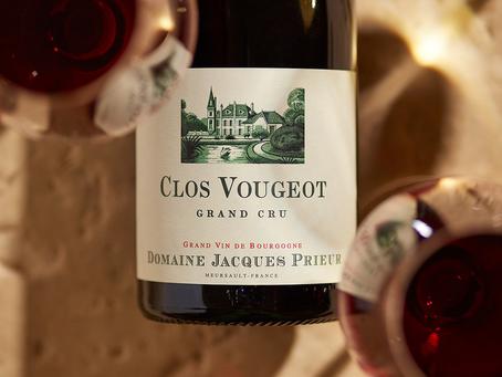 94pts Jacques Prieur Clos Vougeot Grand Cru 2014 at Only HK$1,300/Bt Today!