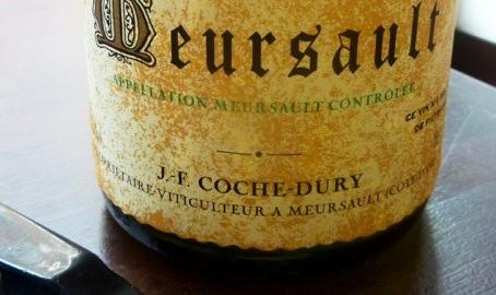 """King of Meursault"" Coche-Dury Meursault and Meursault Les Rougeots Selection"
