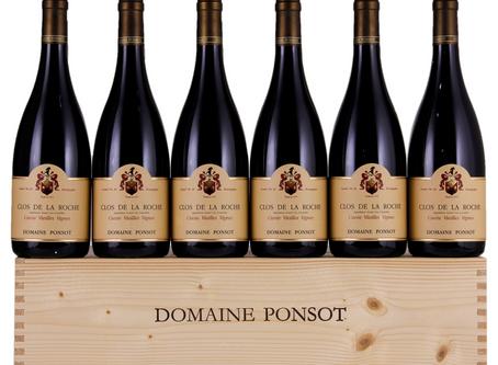 Domaine Ponsot Grand Cru Assortment Cases incl. Clos de la Roche, 2007 & 2001