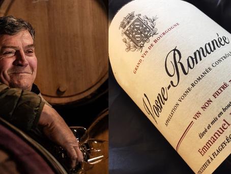 Henri Jayer's Apprentice Emmanuel Rouget: Vosne-Romanee 2018 at HK$1,750/Bt Today