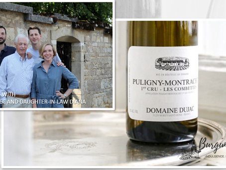 """Of Power and Intensity"" Domaine Dujac Puligny-Montrachet 1er Cru Combettes 2015"