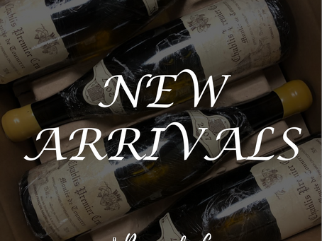 Burgundy Cave New Arrivals | Francois Raveneau, Mugneret-Gibourg, Bouchard and More!