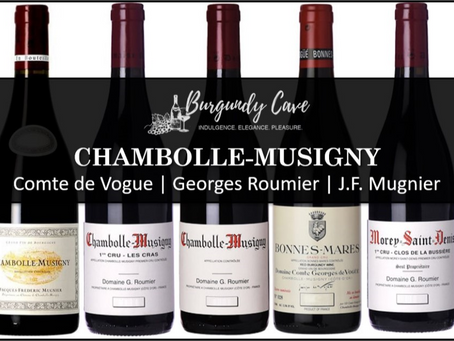 Chambolle-Musigny Lovers: Our Latest List of Vogue, Georges Roumier and JF Mugnier!