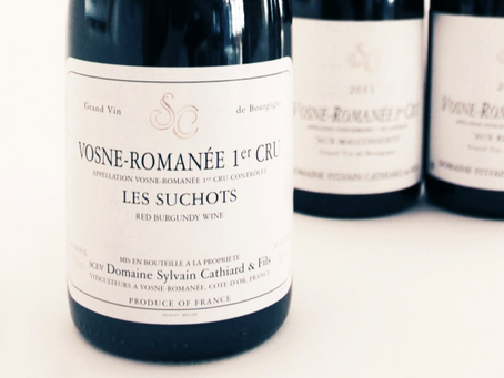 Available In-Stock Now! Sylvain Cathiard Collection: Suchots, Thorey and Clos de l'Orme 2007-2015