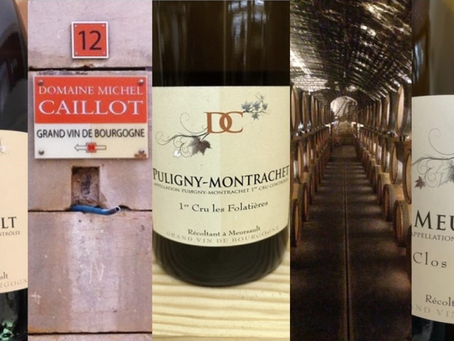 Special Discounts on Michel Caillot Meursault & Puligny-Montrachet Selections