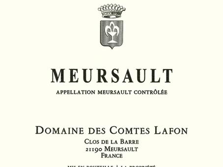 Domaine des Comtes Lafon Meursault 2018 at Only HK$950/Bt and Other Lafon Availability