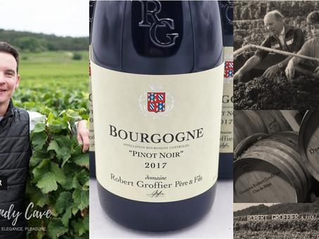 Arriving Soon! Robert Groffier Bourgogne Pinot Noir 2017 from HK$335/Bt Only