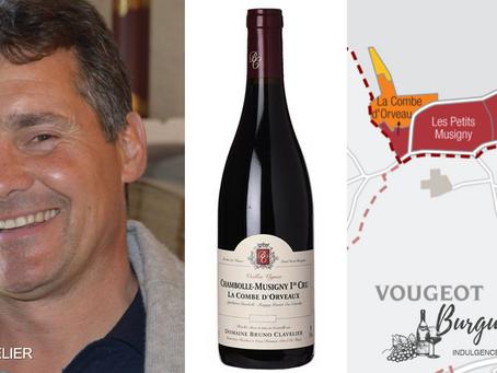 "92-94pts AM ""Explosive Finale"" Bruno Clavelier Chambolle-Musigny La Combe d'Orveau 1er Cru 2014"