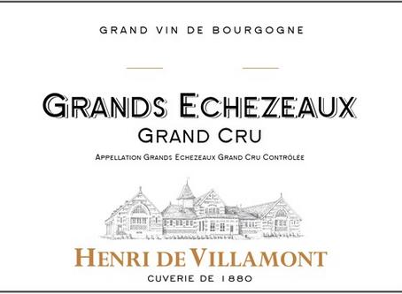 Henri de Villamont Grands Echezeaux Grand Cru 2014 at Only HK$1,080 Per Bottle