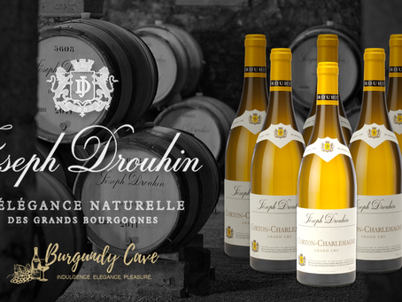 Stock Up Now, 25% Lower Than Back-Vintages: 93pts Joseph Drouhin Corton-Charlemagne Grand Cru 2018