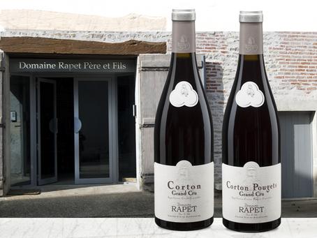 Domaine Rapet Corton and Corton Pougets Grand Cru for Only HK$585 per Bottle!
