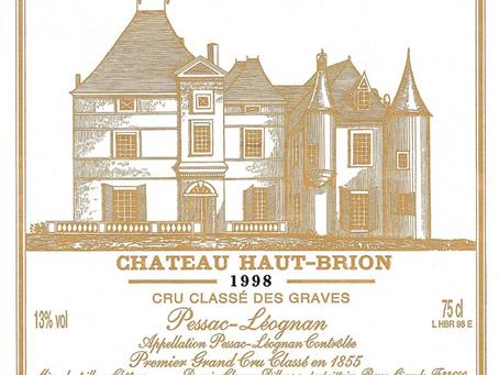 Best Price in the World! Haut Brion Pessac-Leognan 1998 at Just HK$3,900 Per Bottle