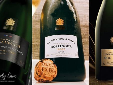 Our Latest Selection of Bollinger Champagne 1985-2011: Vieilles Vignes Francaises, La Grand Annee