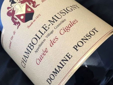 Limited Quantities! Ponsot Chambolle-Musigny Cigales 2009 & 2010 and Clos de la Roche VV 2011