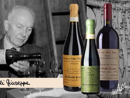 The Legendary Giuseppe Quintarelli: Rosso del Bepi 2008, Amarone 2012 and Recioto 2007