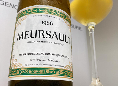Just Landed! An Ex-Domaine Meursault 1986 from Only HK$550 Per Bottle