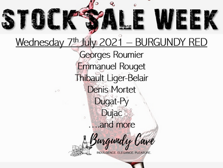 STOCK SALE Part 1: Burgundy Reds incl. Roumier, Thibault Liger-Belair, Gros, Denis Mortet, and Many