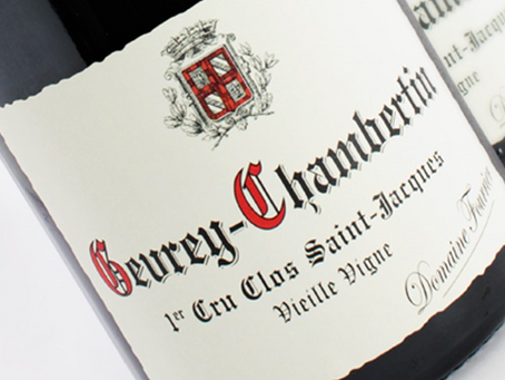 """94pts """"Reminds Me Of the '99s"""" Fourrier Gevrey-Chambertin Clos St-Jacques 2014 at HK$3,800/Bt"""