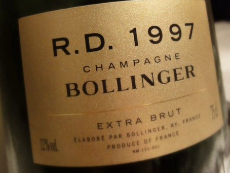 97pts Wine Enthusiast, Bollinger R.D. 1997 Available in Stock Now