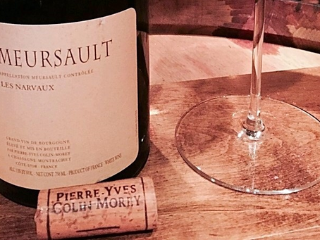 Pierre-Yves Colin-Morey Meursault Narvaux 2008 and Chassagne-Montrachet 2017 Selection